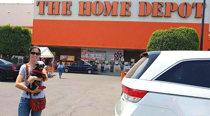 De compras con Lupita en The Home Depot