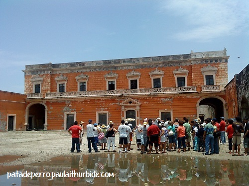 156 San Juan de Ulua veracruz mexico pata d eperro