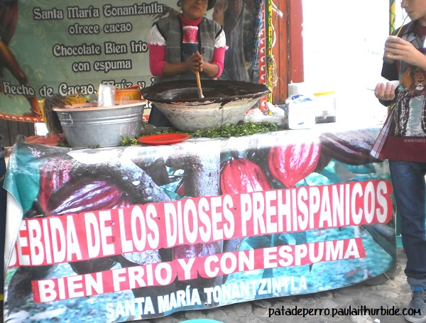 bebida de los dioses prehispanicos tonantzintla mexico puebla pata de perro