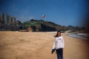 chile reñaca playa viña del mar
