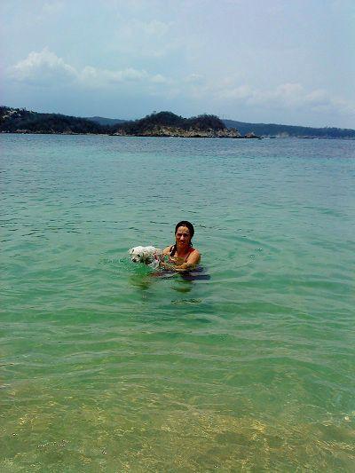 huatulco oaxaca mexico pata de perro mar