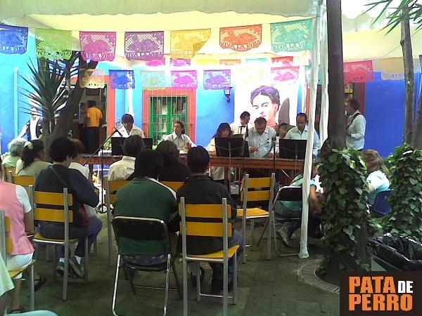 julio 2007 centenario de frida kahlo casa azul coyoacan mexico 2