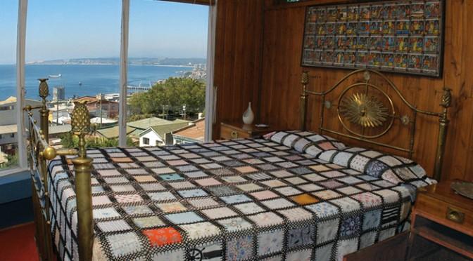 De la Casa de Pablo Neruda al Congreso Nacional en Valparaíso, Chile