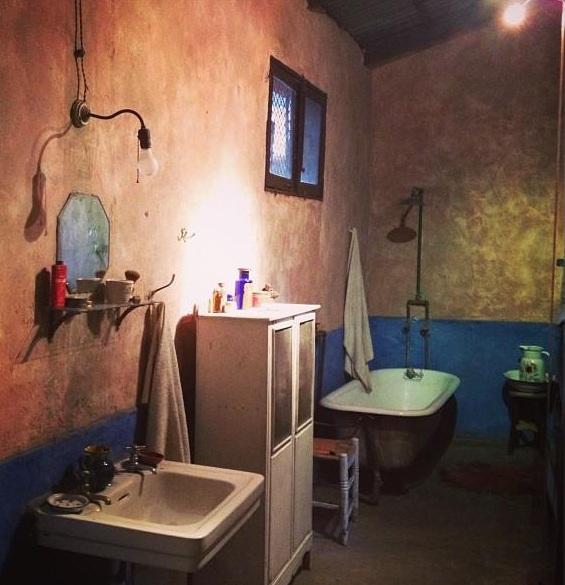baño casa museo leon trotsky df coyoacan mexico pata de perro