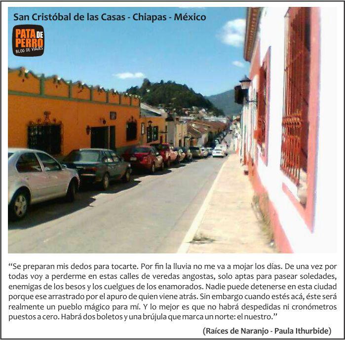 postal san cristobal de las casas raices de naranjo chiapas mexico pata de perro blog de viajes