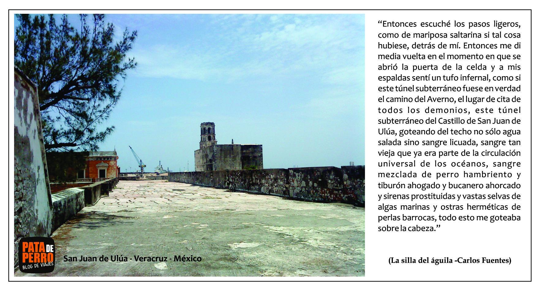 postal01 San Juan de Ulua Veracruz Mexico