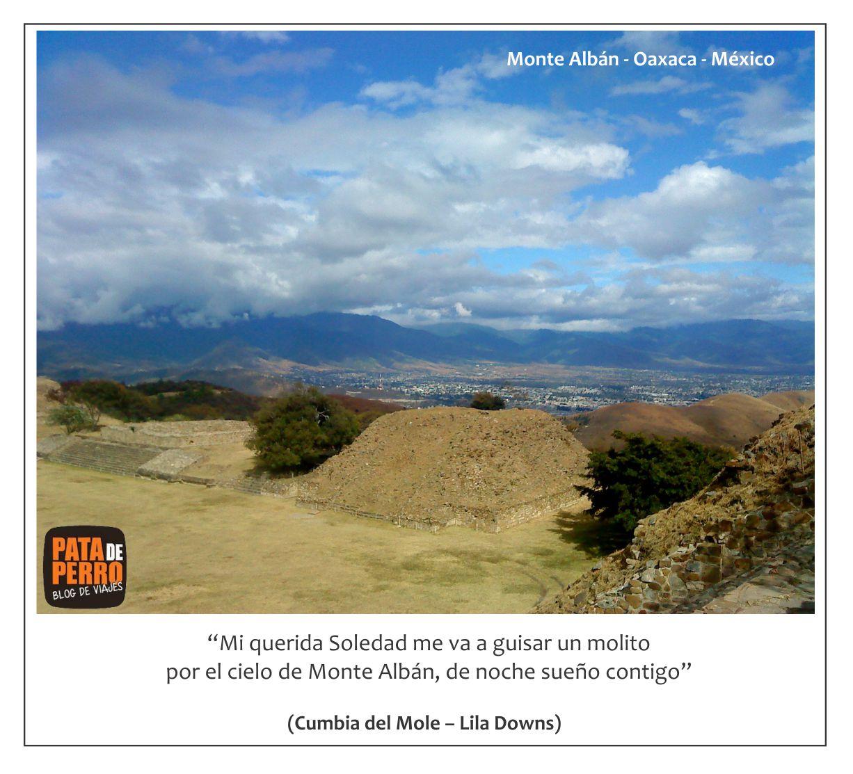 postal02 Monte Alban Oaxaca Mexico