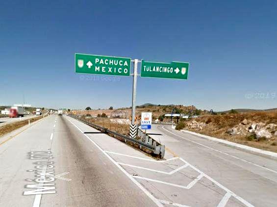 salida tulancingo arco norte mexico