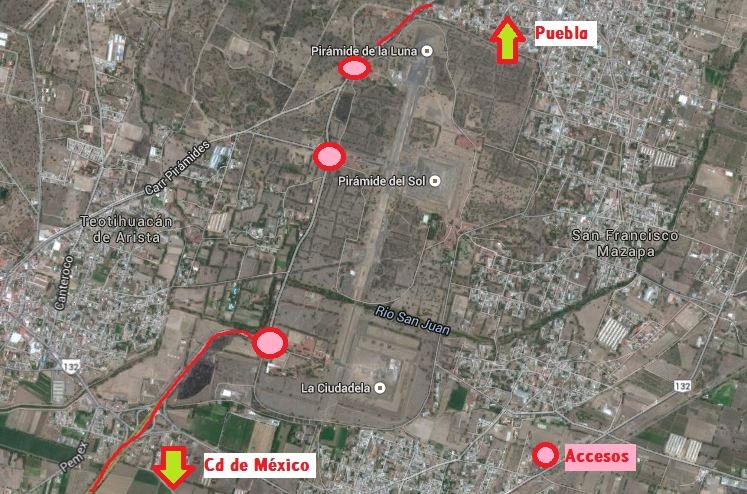 teotihuacan como llegar desde puebla mexico pata de perro