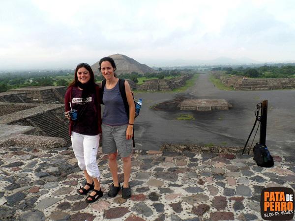 teotihuacan con florencia cordero piramides mexico pata de perro