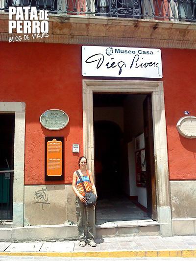 casa museo diego rivera guanajuato mexico pata de perro blog de viajes 2