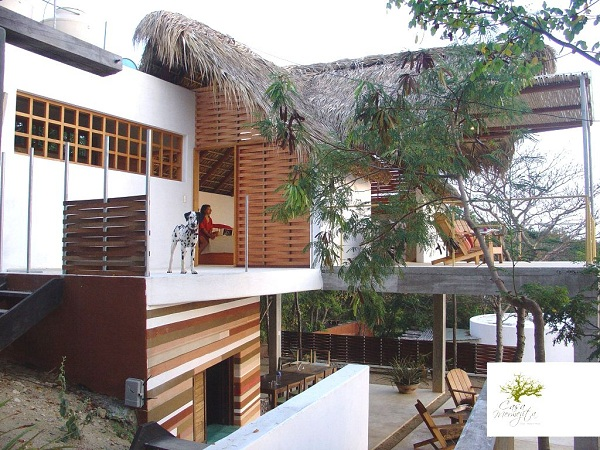 casa triangular mermejita mazunte oaxaca mexico pata de perro blog de viajes