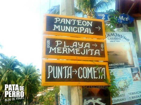 como llegar playa mermejita mazunte oaxaca mexico pata de perro blog de viajes