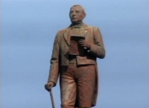 estatua benito juarez puebla av juarez4 mexico pata de perro blog de viajes