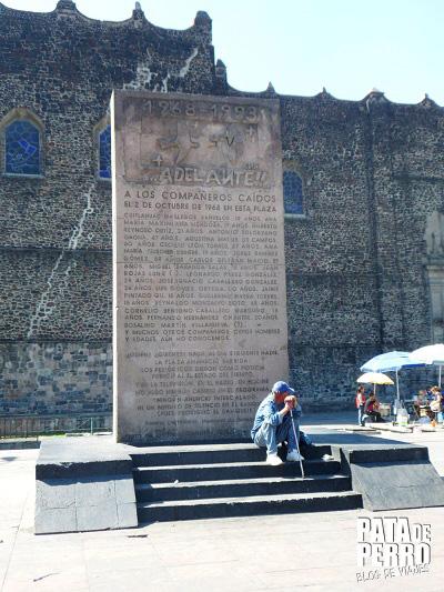 monumento a los caidos tlatelolco mexico df 2 de octubre pata de perro blog de viajes