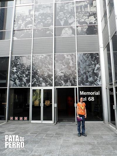 tlatelolco memorial 68 mexico df pata de perro blog de viajes