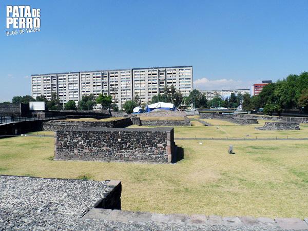 zona arqueologica tlatelolco mexico df pata de perro blog de viajes