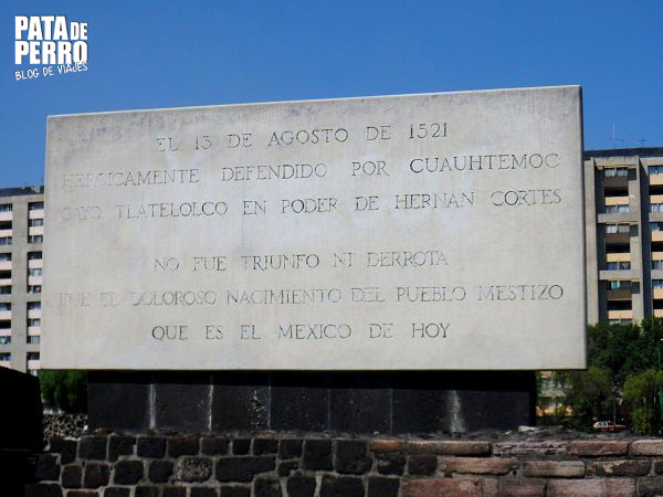 zona arqueologica tlatelolco mexico df pata de perro blog de viajes2