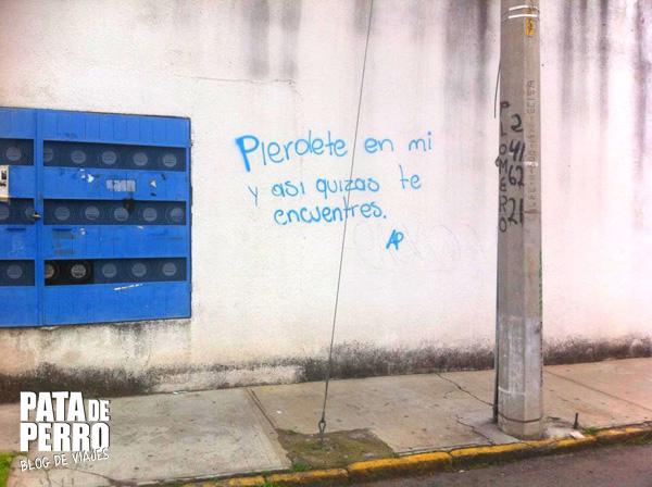 graffitis del camino pata de perro blog de viajes