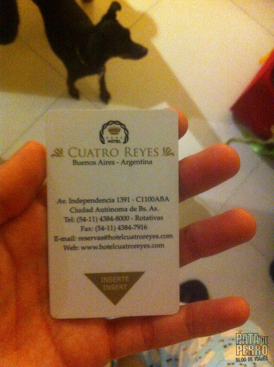 hotel 4 reyes buenos aires argentina pata de perro blog de viajes