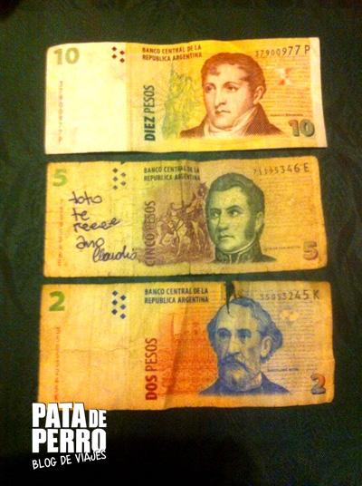 durabilidad de los billetes en argentina01 pata de perro blog de viajes