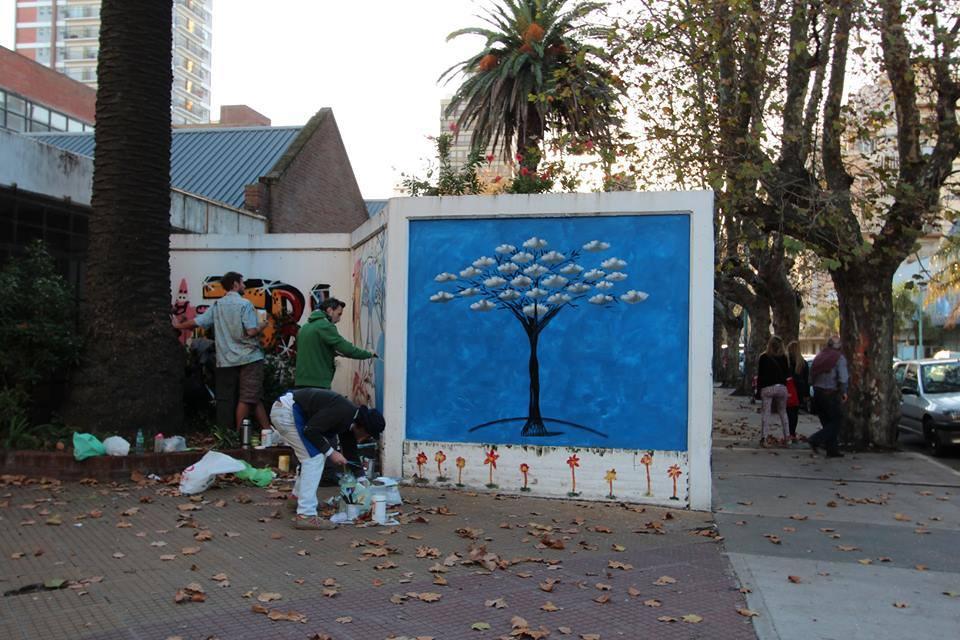 mural canatakis pata de perro blog de viajes8