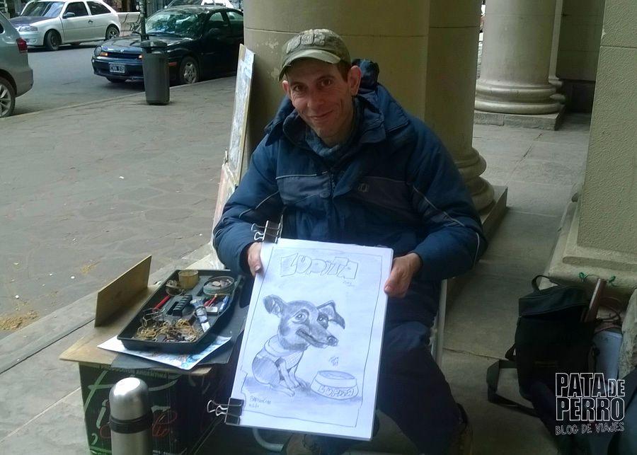 caricatura de lupita bariloche pata de perro blog de viajes06