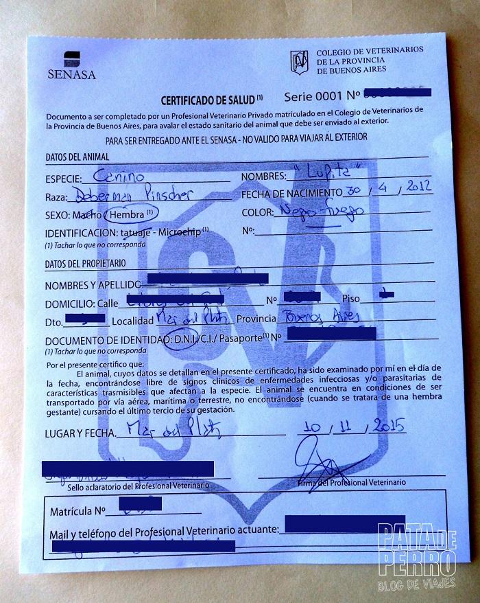 certificado salud veterinario argentina3