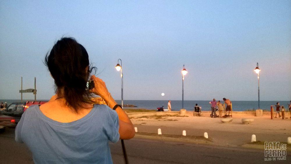 luna llena ene l mar pata de perro blog de viajes 4