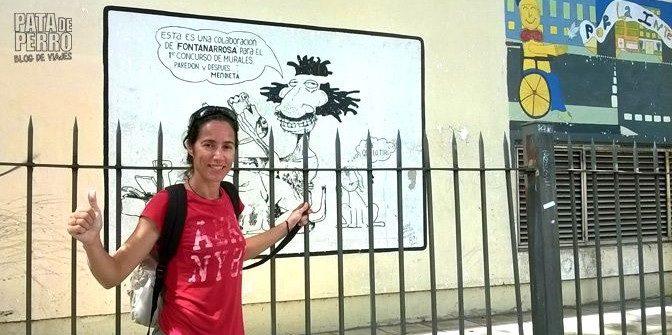 Mural de Fontanarrosa