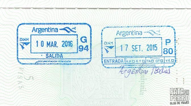 Entrar y salir de Argentina con doble nacionalidad