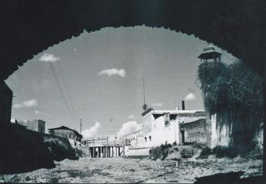puente de la madre tomado desde el puente de bubas
