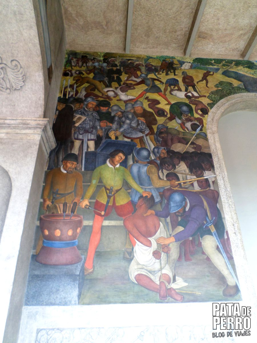 palacio de cortés cuernavaca cuauhnahuac morelos mexico pata de perro blog de viajes22