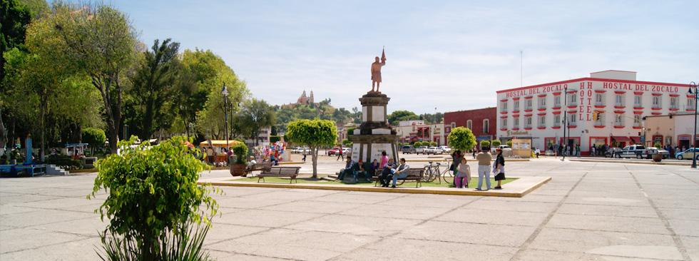 Plaza de la Concordia – Fuente: puebla.travel