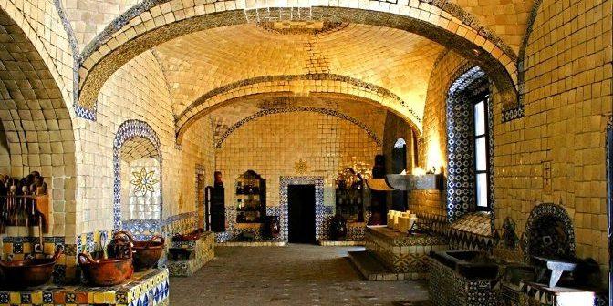 La cocina donde se creó el mole poblano