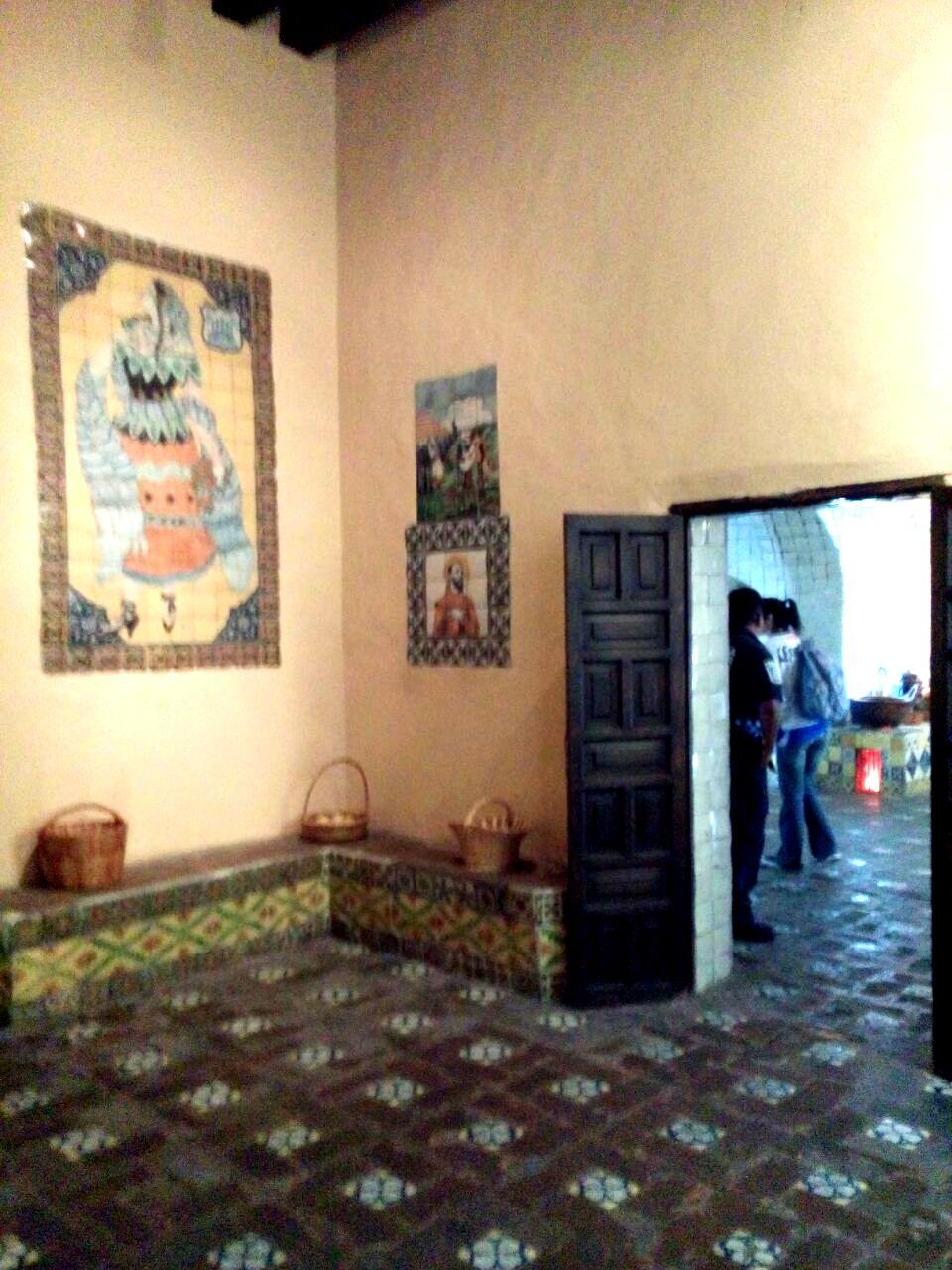 convento de santa rosa mole poblano pata de perro blog de viajes10