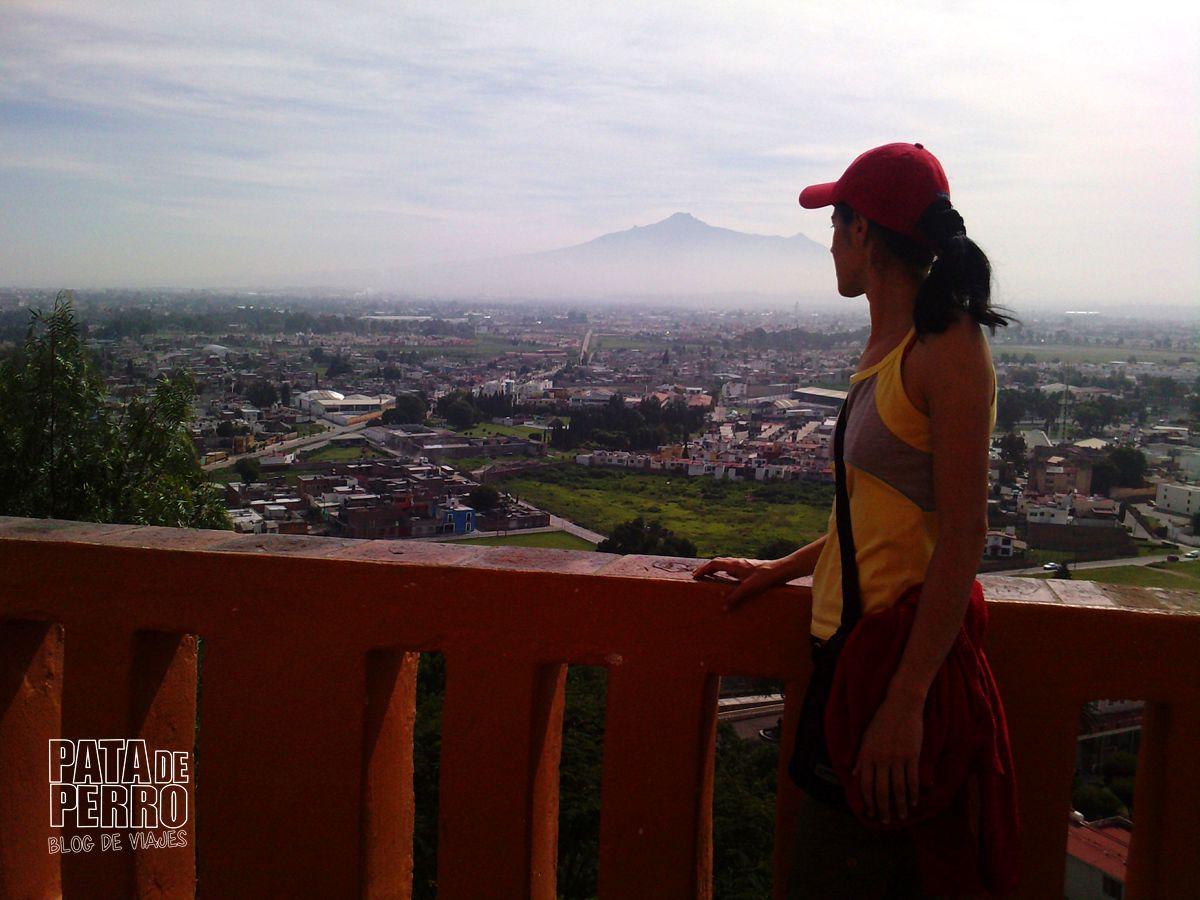 Vista al Volcán La Malinche
