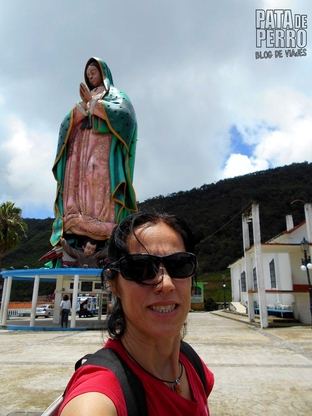 xicotepec puebla con isi virgen gigante mexico pata de perro blog de viajes04