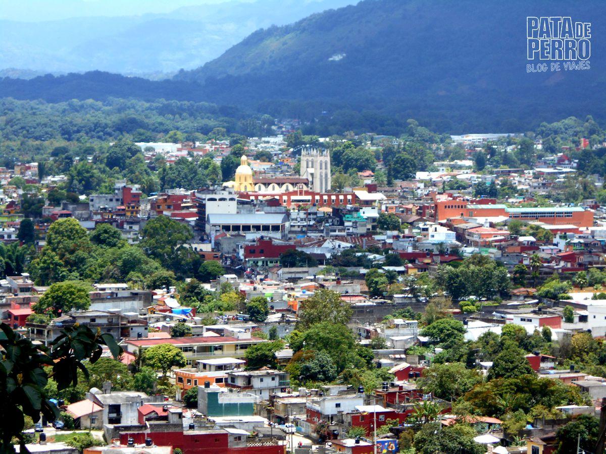 Xicotepec desde las alturas
