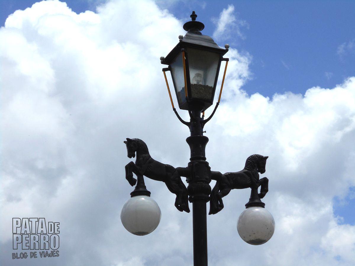 Detalle de las luminarias