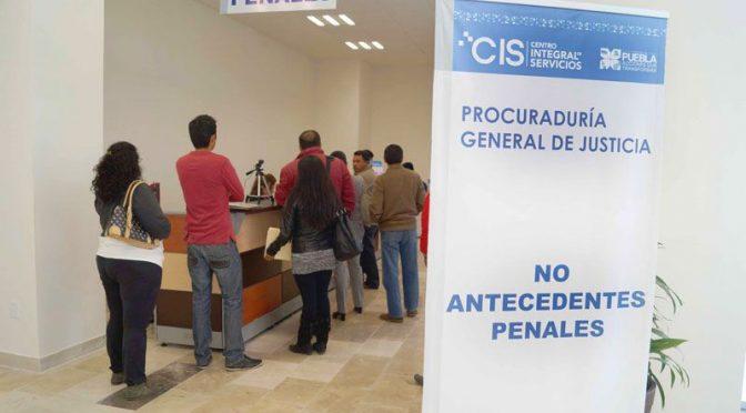 """Carta de """"No Antecedentes Penales"""" Federales y Estatales"""