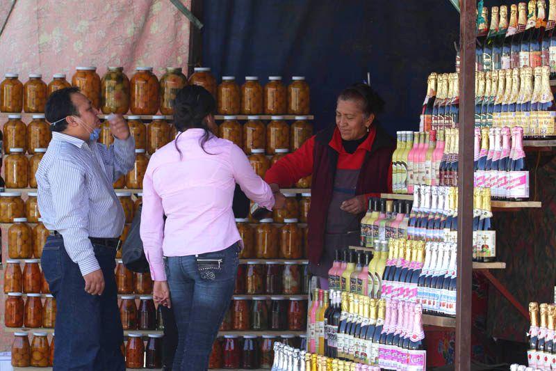 Puesto de sidras y conservas - Imagen: http://pueblanoticias.com.mx