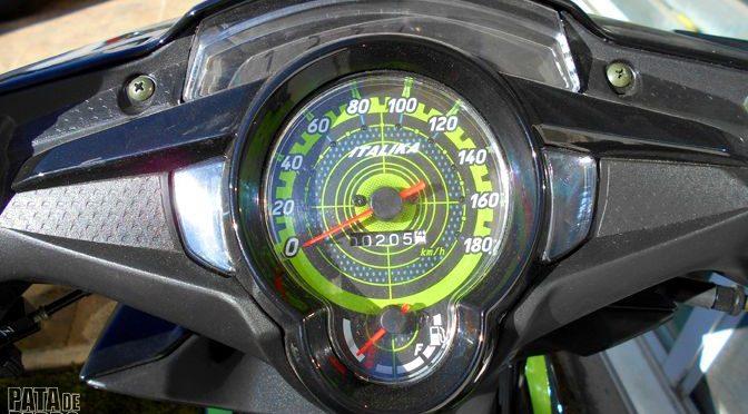 El cuentakilómetrosde mi moto no sólo mide distancias