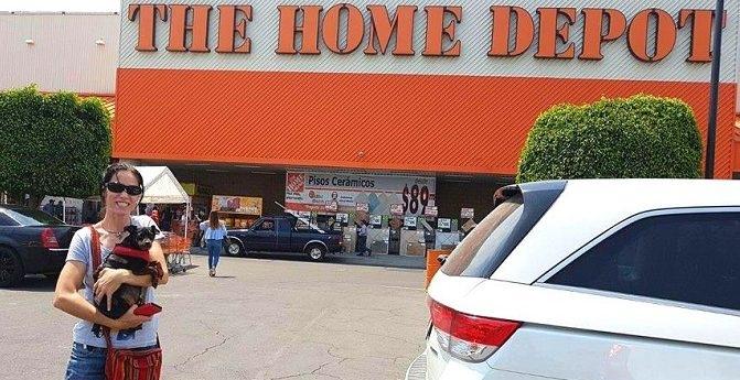 De compras con Lupita en The Home Depot