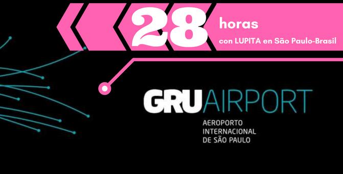 Aeropuerto cerrado por tormenta: 28 horas con Lupita en el GRU