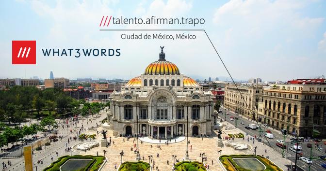 What3Words: Todas las direcciones del mundo en 3 palabras