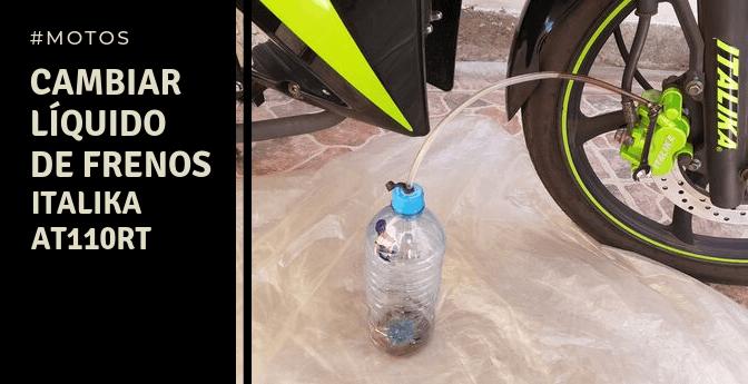 Motos: cambiar líquido de frenos
