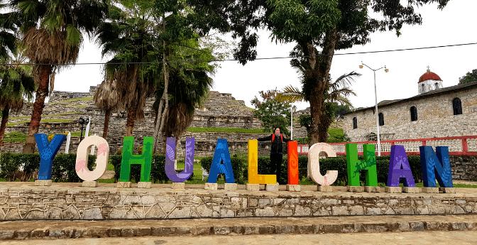Zona Arqueológica de Yohualichan, Puebla