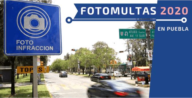 Fotomultas 2020 en Puebla
