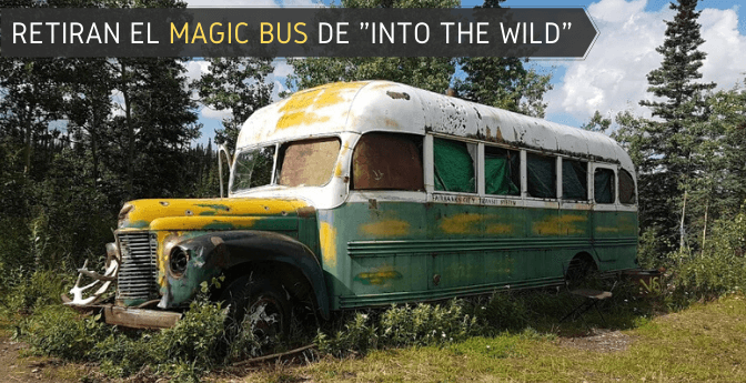 Retiran el «Magic Bus» de «Into the wild»